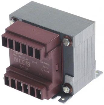 Трансформатор 230v - 12v 60va (ve1360a0) - UNOX  KVE1360A