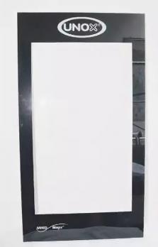 Стекло внешнее 10eu-1021 UNOX KVT1292A