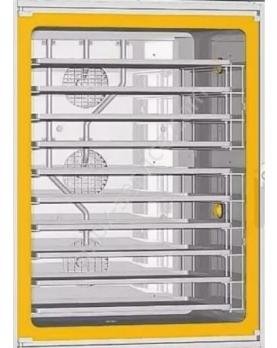 Стекло внешнее желтое 943x730x4 (vt1002a0) UNOX VT1001A1