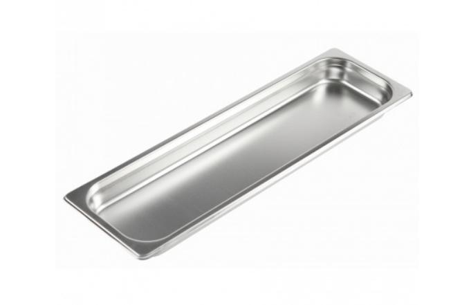 Гастроемкость Luxstahl из нержавеющей стали GN 2/4 530х162х40