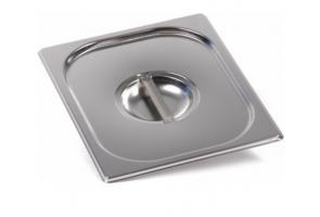 Крышка Luxstahl из нержавеющей стали для GN 1/2