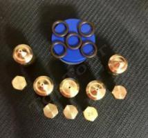 """Комплект жиклеров (сопел) газовой плиты """"Дарина"""" GM441. GM442. SGM441. S1GM441, без терм-та (сжиженный газ)"""