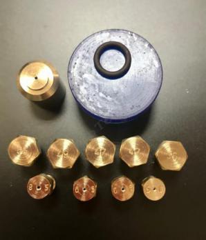 """Комплект жиклеров (форсунок) газовой плиты """"Дарина"""" GM141, GM241, GM341, без термостата(пропан)"""