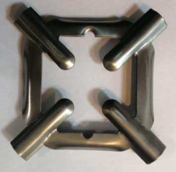 Подставка на решетку стола (для мелкой посуды) оксидированная (квадрат)