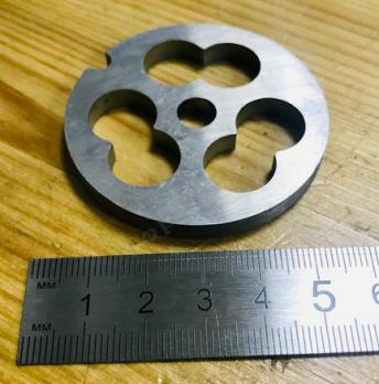 Решетка мясорубки Bosch, Braun 53mm H=6mm для РУБКИ МЯСА