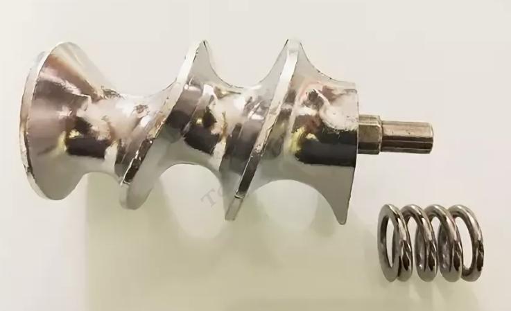Шнек мясорубки Polaris с пружиной