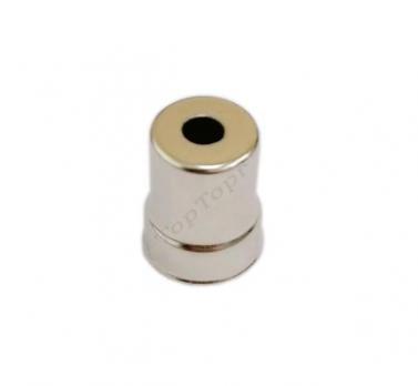 Колпачок СВЧ магнетрона LG, D=15/13mm (круглое отверстие)