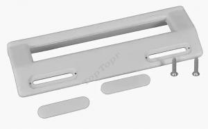 Ручка холодильника универсальная белая 200mm