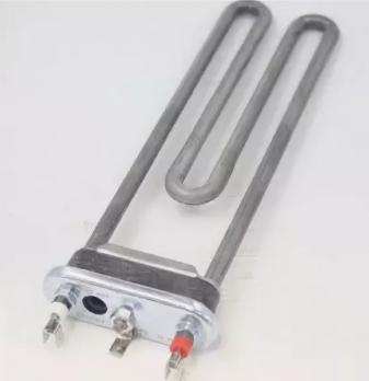 Тэн СМА 1850W 242mm прямой с отверстием под датчик, с буртом Thermowatt, двойная клемма