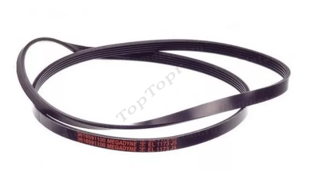 Ремень 1173 J5 EL Megadyne черный, AV09225, 4400FR3116A