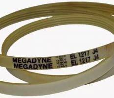 Ремень 1217 J4 EL, Megadyne