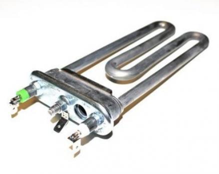 Тэн СМА 1700W 165 mm короткий прямой  с отверстием под датчик
