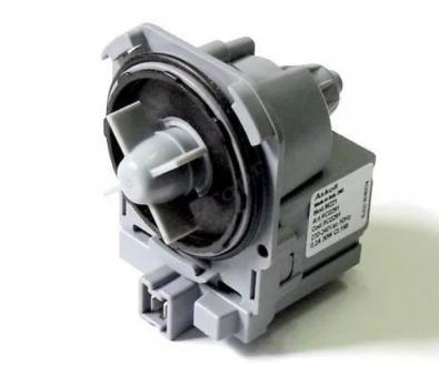 Помпа Askoll 30W, 3 защелки, клеммы под фишку вперед Bosch  серия MAXX, PMP002UN, 63BS105 вз. 482000072471