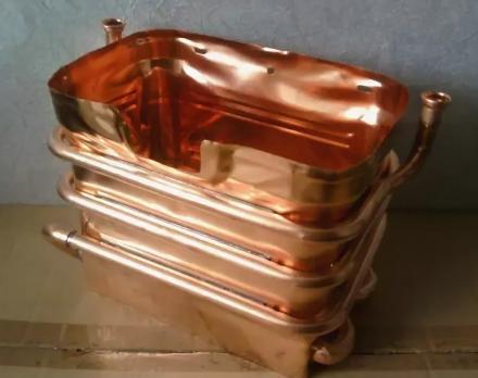 Теплообменник для газовой колонки Ariston Fast 11