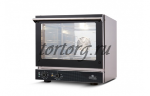 Печь конвекционная LUXSTAHL FAST FV-CME404-LR с электромеханическим управлением