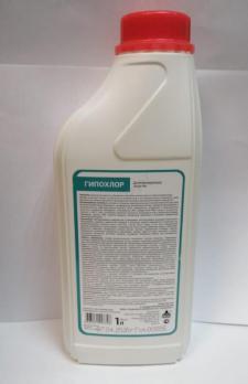 Гипохлор – жидкий хлор (гипохлорит) 1 л.