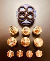 """Комплект жиклёров (форсунок) газовой плиты """"Дарина"""" GM 441, GM 442, с термостатом (пропан)"""