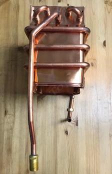 Теплообменник для газовой колонки Аристон Fast R ONM 10 NG RU