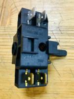 Переключатель мощности четырехпозиционный Tibon 420 / 16А / 250V / Т150 (контакты снаружи 2+2) черный