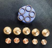 """Комплект жиклёров (форсунок) газовой плиты """"Дарина"""" GM 441, GM 442, без термостата для работы на природном газе"""