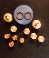 """Комплект жиклеров (форсунок) газовой плиты """"Дарина"""" GM141, GM241, GM341, без термостата для работы на природном газе"""