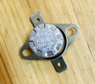 Датчик (термореле) KSD 301-095C