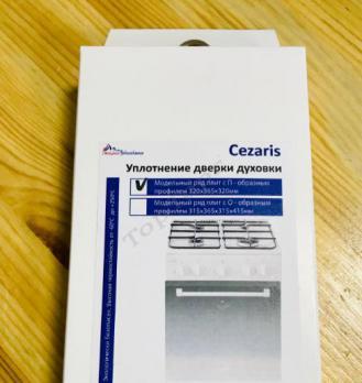 """Уплотнение дверки духовки """"Cezaris"""", """"П-образное"""""""