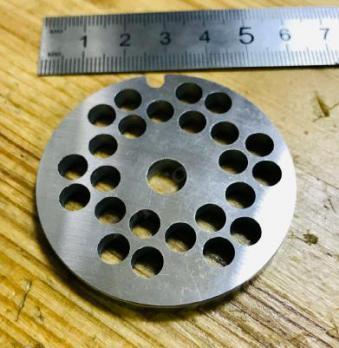 Решетка мясорубки Bosch, Braun  6mm 53mm d=8mm H=6mm