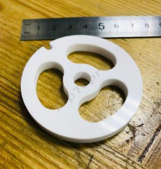 Решетка мясорубки Bosch, Bork, Zelmer, Moulinex HV8 для рубки мяса d62mm h5mm (Керамика)