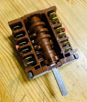 Переключатель режимов духовки электроплиты 46.25866.560 EGO (4+1)