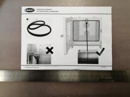 Уплотнитель двери 300 series UNOX KGN1389C (gn1006a1)
